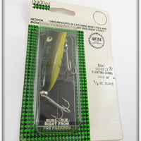 Heddon Bullfrog Baby Lucky 13 Sealed On Card BF