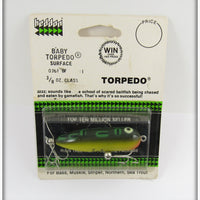Heddon Bullfrog Baby Torpedo Sealed On Card