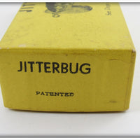 Arbogast Green Scale WW2 Plastic Lip Jitterbug In Box