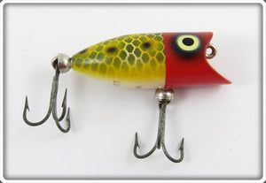 Heddon Red Head Frog Scale Tiny Lucky 13