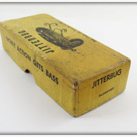 Arbogast Red & White WW2 Plastic Lip Jitterbug In Box