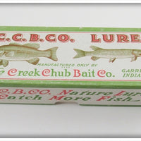 Creek Chub Empty Box For Red & White Wigglefish 2402