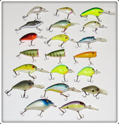 Lot Of 20 Various Crankbaits
