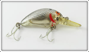 Vintage Bomber Silver Scale Model A Lure