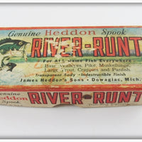 Heddon Empty Box For Shiner Scale River Runt 9010 P