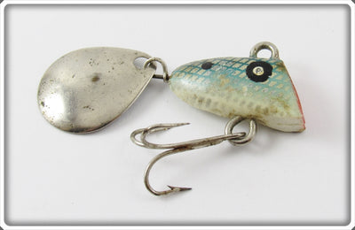 Vintage Chas M Six Tackle Co Silver Scale Little Suzy Lure
