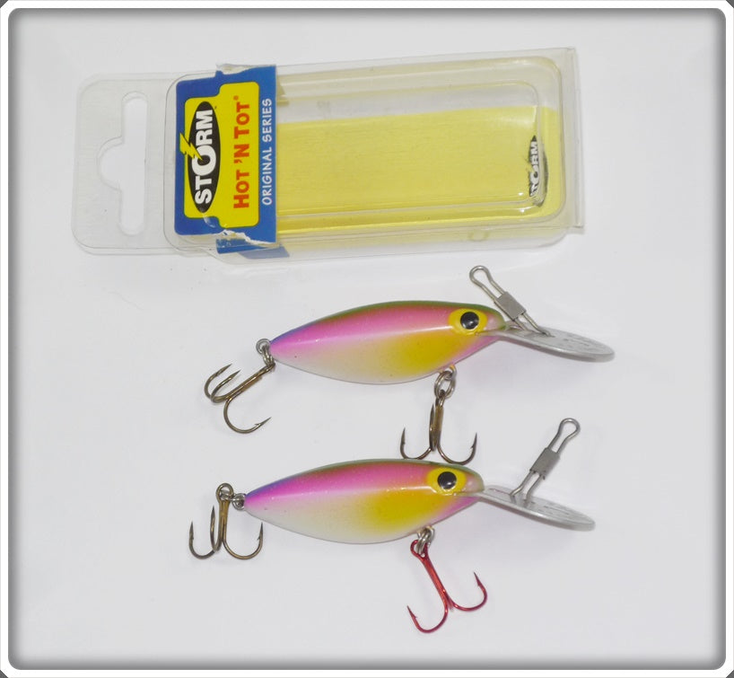 Storm Thin Fin Hot N Tot Pair: Rainbow Descent / Eriedesent