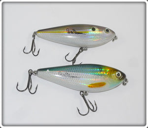 Bill Dance Excalibur Spit N Image Pair: Hologram Shad
