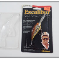Bill Dance Excalibur Fat Free Shad Natural Crawdad With Card