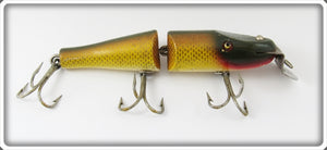 Vintage Creek Chub Golden Shiner Jointed Pikie Lure
