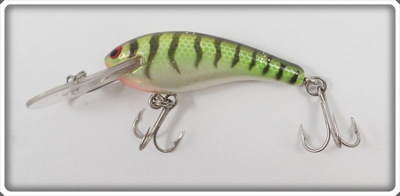 Heddon Wood Sisson Green w/Black Tiger Stripes