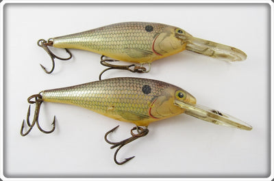 Vintage Rapala Natural Finish Deep Runner Lure Pair