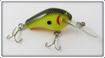 Bagley Black On Chartreuse Honey B Lure