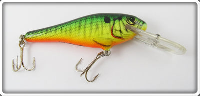 Bagley Green Crayfish On Chartreuse Bass N Shad Lure