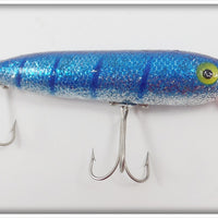 Heddon Zara Spook Blue With Silver Glitter