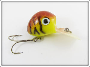 Allen Tackle Or Cooper Yellow & Brown Crawfish Ubangi