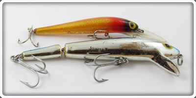 Storm Chrome & Glitter Thunderstick Lure Pair