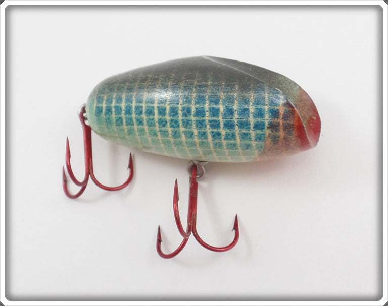 Folk Art Blue Checkered Lure