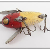 Heddon Red & White Shore Crazy Crawler