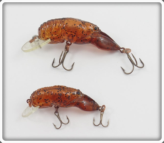 Rebel Pumpkinseed Crawfish & Shallow Floater Pair