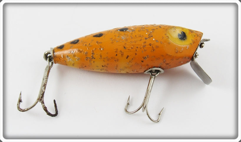 Poe's Orange & Black With Sparkles Nervous Miracle Lure