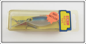 Storm Blue Scale Rattle Tot Thin Fin In Box