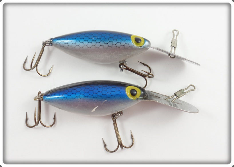 Storm Blue Scale Rattle Tot Thin Fin Pair