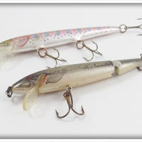 Rapala Rainbow Trout Floating & Rebel Natural Bass Floater