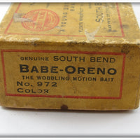 South Bend Green Scale Babe Oreno In Box