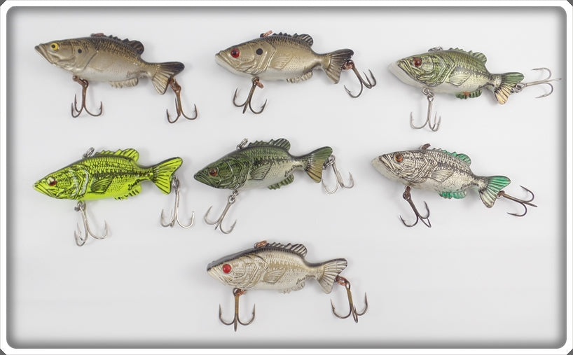 Mann's Leroy Brown Lot Of 7 Lures