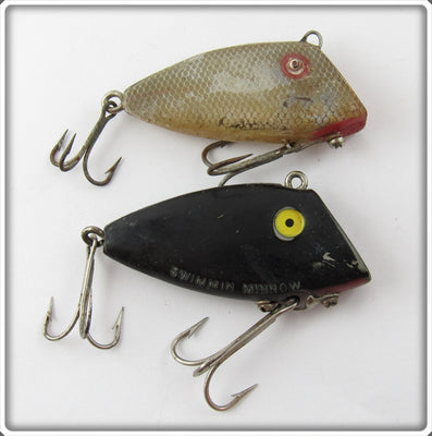 Vintage Pico Chico & Swimmin' Minnow Fishable Lure Pair