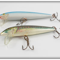 Rapala Countdown Ireland Pair: Blue/Silver & Natural Finish