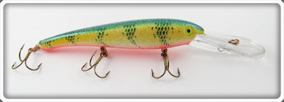 Vintage Mann's Bait Co Glitter Perch Stretch S 20+ Lure