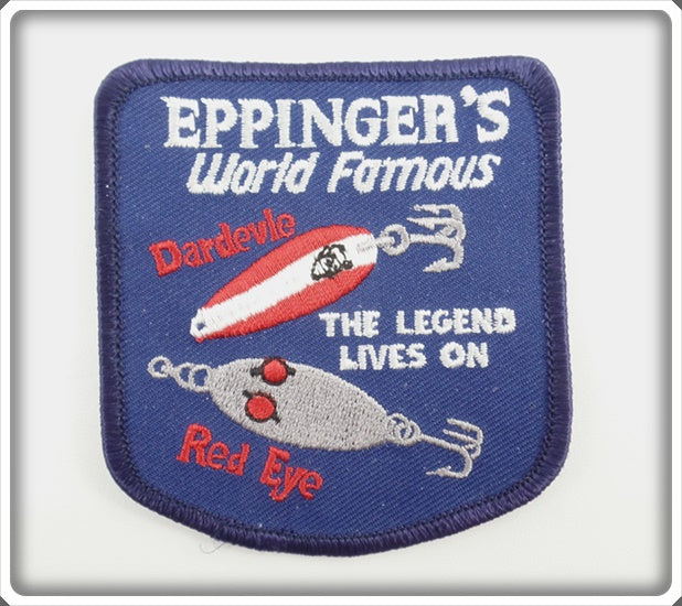 Eppinger's World Famous Dardevle & Red Eye Patch