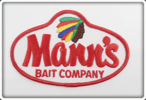 Mann's Bait Company Indian Patch