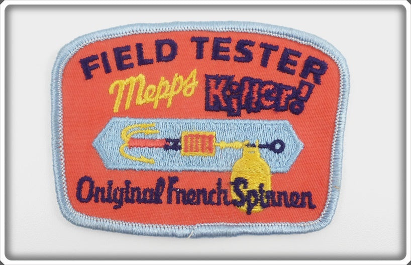 Mepps Killer Field Tester Original French Spinner Patch