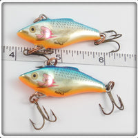Rapala Rattlin' Rap Silver Blue Pair