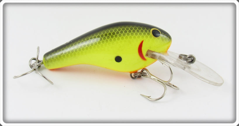 Bagley Black On Chartreuse Diving Killer B II KB2 Lure