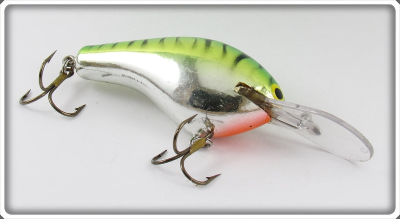 Bagley Green On Silver Chrome Divin' B III DB3 Lure