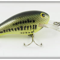 Bagley Little Bass On Chartreuse Diving Killer B II KB2 Lure