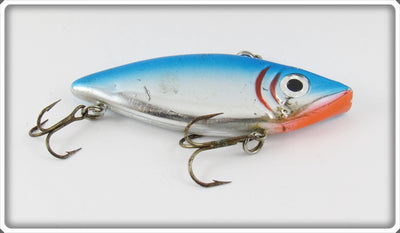 Bagley Blue On Silver Chrome Shad-A-Lac Lure