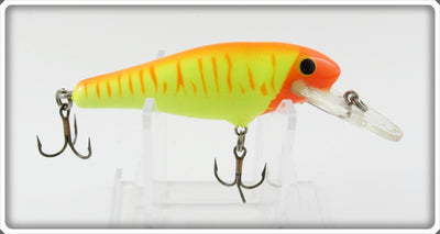 Bagley Orange On Chartreuse Bass N Shad Lure