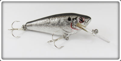 Bagley Black On Silver Foil Small Fry Shad Lure