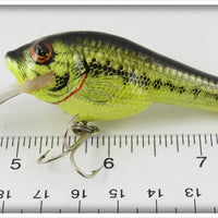 Bagley Little Bass On Chartreuse Small Fry Bass