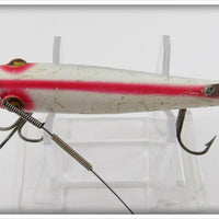Heddon White & Red Spook