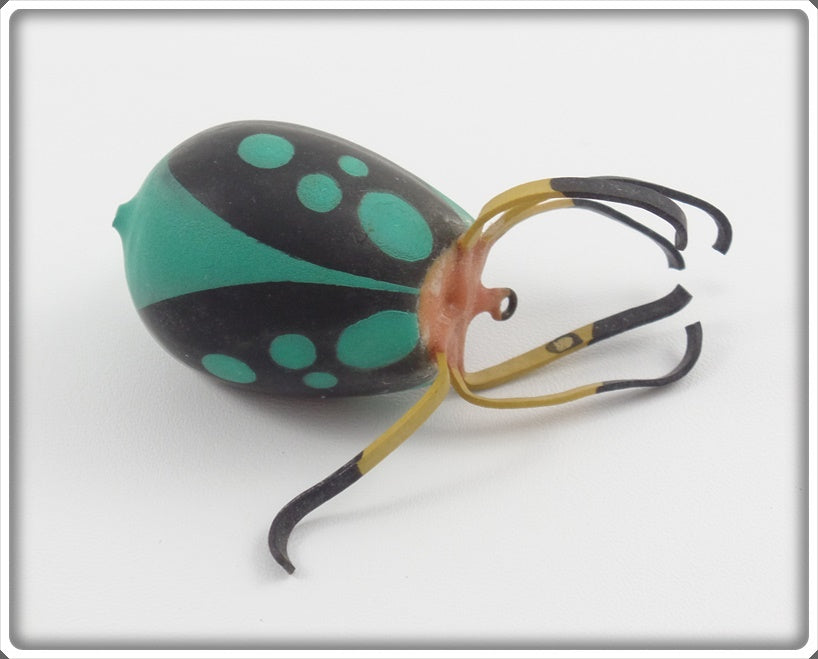 "Ernie ""Erne"" St Claire Black & Green Top Bug Spider/Beetle"