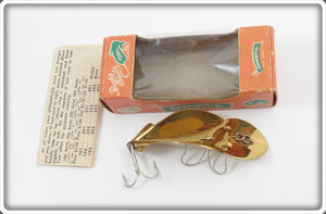 Buck's Baits Brass Spoonplug In Correct Box