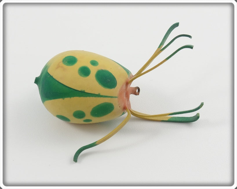 "Ernie ""Erne"" St Claire Yellow & Green Top Bug Spider/Beetle"