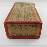 Heddon Empty Box For Perch River Runt 9119L