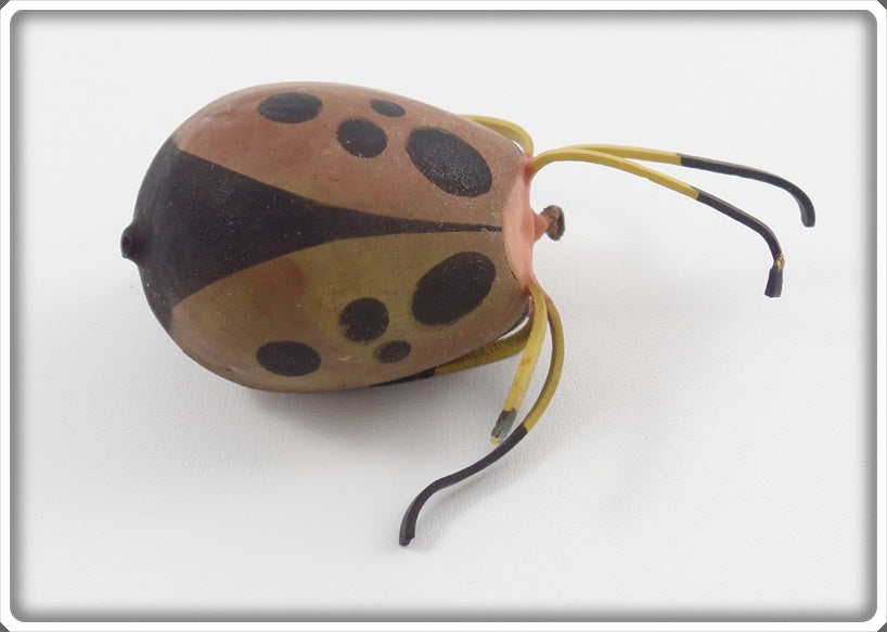 "Ernie ""Erne"" St Claire Tan & Brown Top Bug Spider/Beetle"